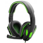 Casti Gaming Stereo Esperanza EGH340, Microfon (Negru/Verde)