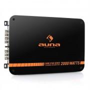 Auna Dark Star 2000 Amplificador Automóvel 2 Canais 2000W RMS