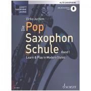 Schott Die Pop Saxophon Schule 1 für Altsax Lehrbuch