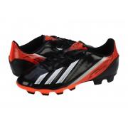 Ghete fotbal copii Adidas F5 TRX FG J black-runwht-infred