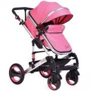 Детска количка с трансформиращ се кош Gala, Moni, корал, 356192