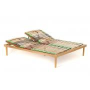 Somiera Rabatabila pat RUR1 180x200xh35, din lemn fag stratificat