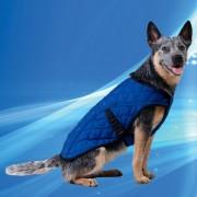 Aqua Coolkeeper hűtőkabát kutyáknak - XL; 67-95 cm / hossz: 54 cm; Pacific Blue (Kék)
