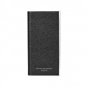 iPhone 6 Book Case Black Saffiano Black Suede