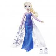 Papusa Elsa fashion luminile nordului Hasbro