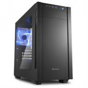 Sharkoon S1000 ATX PC Gaming Case Black with Side Window - | 4044951013944