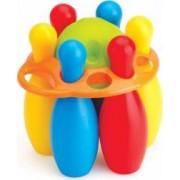 Primul meu set de bowling DOLU 6 popice Multicolor