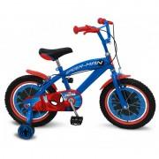 Bicicleta Spiderman 16 inch Stamp