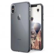 Capa de silicone Ultra Slim Pro para iPhone X / iPhone XS - Cinzento