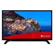 "Toshiba 32WL1A63DG LED TV 32""HD Ready, DVB-T2, black, Two-pole stand"