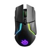 SteelSeries Rival 650 Gaming Mouse - Radio Frequency - USB - TrueMove3+ - 7 Button(s) - Black