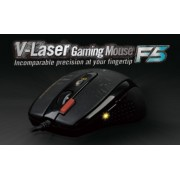 Mouse, A4 F5, Gaming, USB, Black