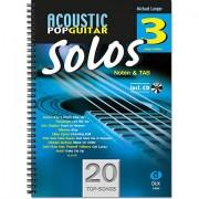 Dux Acoustic Pop Guitar Solos 3 Libro de partituras