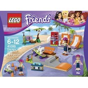 LEGO Friends 41099 Heartlake Skate Park Building Kit Put Charlie On The Skateboard And Pull Him Along Order Now! With E-book Gift@