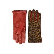 Polo Ralph Lauren Leopard Gloves LeopardRalph Red