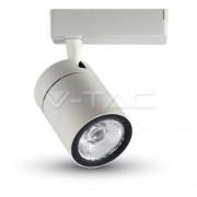 35W LED Track Light White Body 3000K