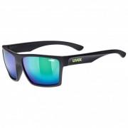 Uvex LGL 29 Mirror S3 Occhiali da sole nero/grigio/turchese/blu;nero/fuchsia;grigio/nero