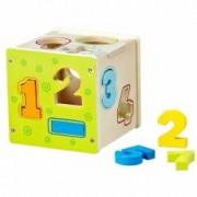 Baby Mix Jucarie din lemn sortator cifre