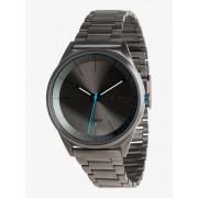 Quiksilver Bienville Metal - Reloj Analógico para Hombre - Negro - Quiksilver