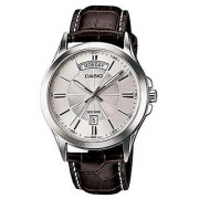 Casio Enticer Analog Silver Dial Mens Watch - MTP-1381L-7AVDF (A845)