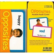 Pocket Flash Cards-Opposites