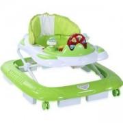 Бебешка проходилка 2 в 1 с люлка Lorelli - Хеликоптер, Зелена, 0746771