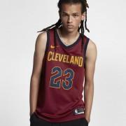 Maillot connecté Nike NBA LeBron James Icon Edition Swingman (Cleveland Cavaliers) pour Homme - Rouge