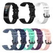 Huawei Silicone Wrist Strap For Huawei band 3 / band 3 pro Smart watch Wristband Sport Bracelet watch Band For Huawei band 4 pro