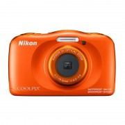 Nikon Appareil photo numérique Coolpix W150 - Orange (International Ver.)