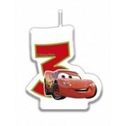 Vela número Cars