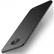 MOFI Para Motorola Moto G6 Plus Frosted PC Ultra Delgado Borde Totalmente Envuelto Volver Funda Protectora (negro)