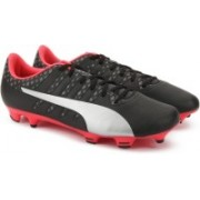 Puma evoPOWER Vigor 4 FG Football Shoes For Men(Black, Silver)