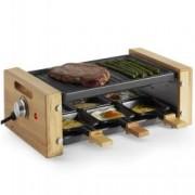 Grill Clasic si cu Raclette VonShef 2000063, pentru 6 persoane, putere 900W
