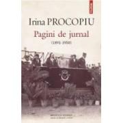 Pagini de jurnal 1891-1950 - Irina Procopiu