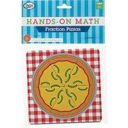 Didax Educational Resources 6 Piece Hands-on Math Fraction Pizzas