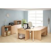 Lenza Kancelářský nábytek sestava Impress 6 hruška