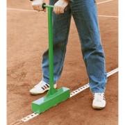Метална трамбовка за монтаж на линии - с двойна ръкохватка за тенис игрище