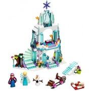 299 PCS Happy Princess Sparkling Ice Castle Doll House Block Set