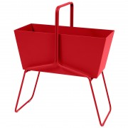 Fermob Basket plantenbak high Poppy