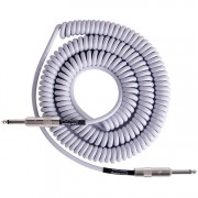 Lava Cable Retro Coil White 1/4 to 1/4 instrumentkabel 6m