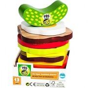 PBS Kids Sandwich Stacker Wooden Food Toy
