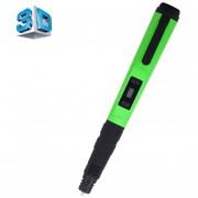 F10 Gen 3 De La Impresion 3D Pluma Con Pantalla LCD (verde)