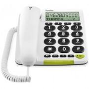 Doro PhoneEasy 312cs Vit - Bordstelefon för hörselskadade