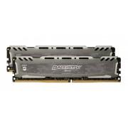 Memorija DIMM DDR4 2x8GB 2666MHz Crucial Ballistix Sport CL16, BLS2C8G4D26BFSBK