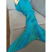 Coperta a coda di sirena BABY - fantasie varie