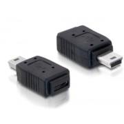 USB adapter Mini 5pin/Micro B DeLock 65155