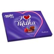 I Love Milka cu Crema de Capsuni 120g