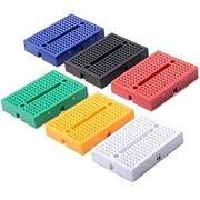 Onwon 6 Pcs 170 Points Mini Solderless Prototype Breadboard for Arduino Proto Shield