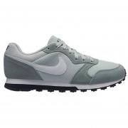 Tenis Nike Md Runner 2 Plata Blanco Originales 749869 013