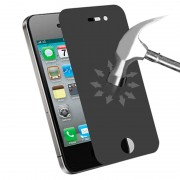 0.4mm High Quality 180 Degree Privacy Anti Glare Screen Protector for iPhone 4 & 4S